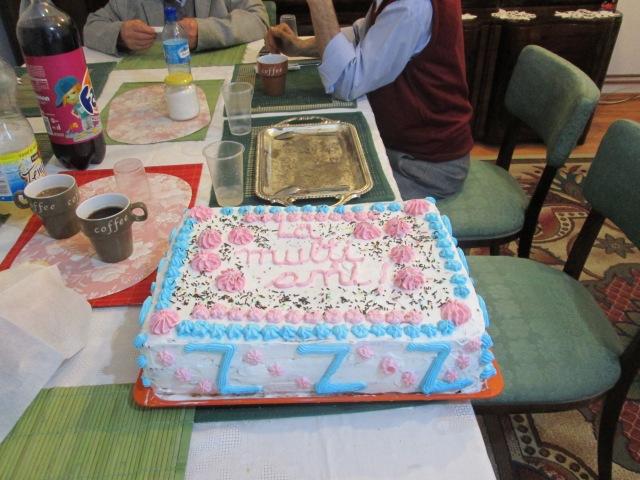Maria-Ines, Tort aniversare 3ani