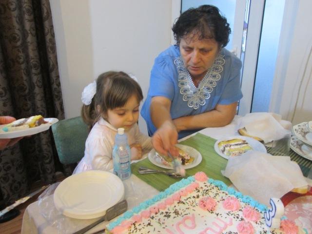 Maria-Ines aniversare 3 ani